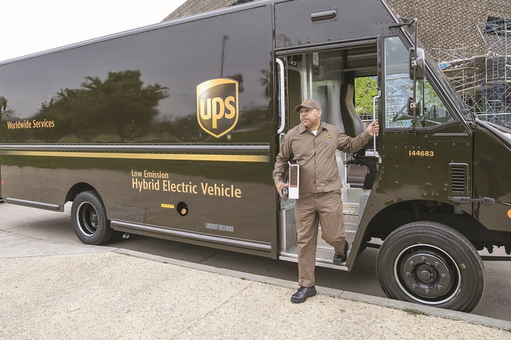 UPS continues to be an industry leader in buying, developing, and testing alternative fuels and drivetrains.