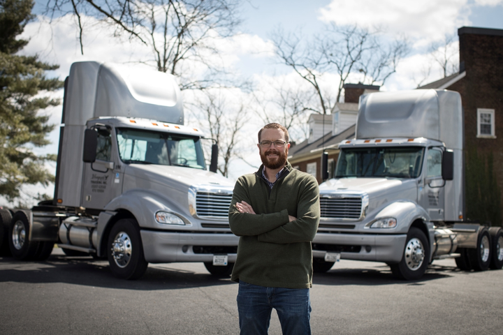 "Chris Hart of Bluegrass Trucking says the primarily dedicated carrier has ""so many moving pieces"" that a fully automated dispatching program is just not the answer.  - Photo: Bluegrass Trucking"