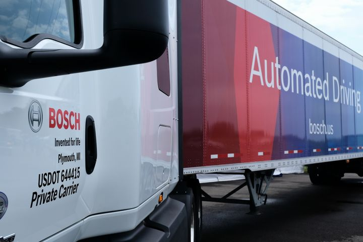 Bosch Demonstrates Emerging Safety and Self-Driving Technology at Bosch Mobility Experience 2018 in Flat Rock, Michigan. Photo: Jim Park  -