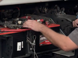 Commercial Vehicle Battery Testing and Maintenance