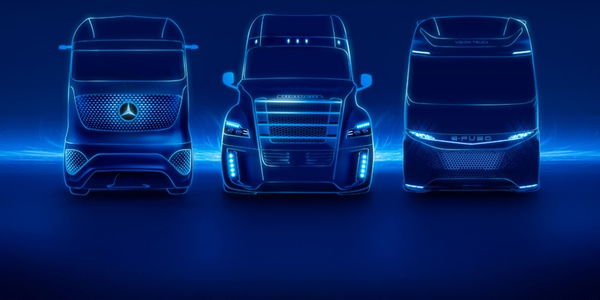 Daimler Trucks executives spoke about its plans for the future of trucks as well as the effects...