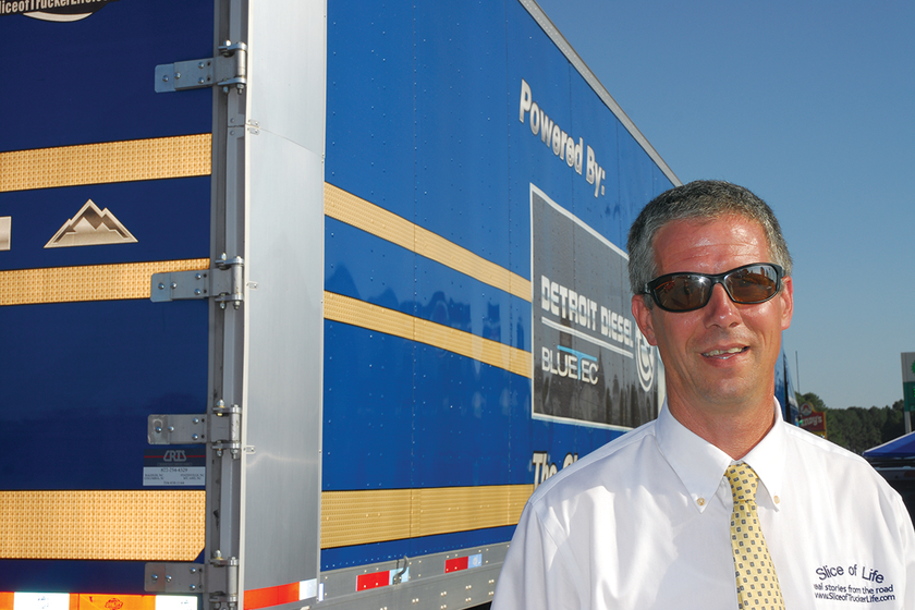 Owner-operator and fuel economy pioneer Henry Albert is attempting to take the lessons he...