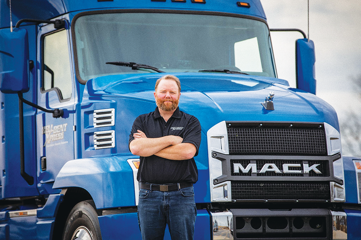 A pursuit of the latest fuel economy technology led Jamie Hagen to a close, two-way relationship with Mack Trucks.