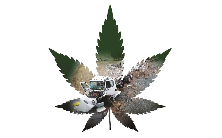 This crash made national headlines, when an Amtrak train carrying Republican congressional members hit a refuse truck stopped on a crossing. The National Transportation Safety Board determined the driver was impaired from the combined effects of marijuana and gabapentin. The carrier's drug-testing program used over-the-counter kits and did not meet federal requirements.