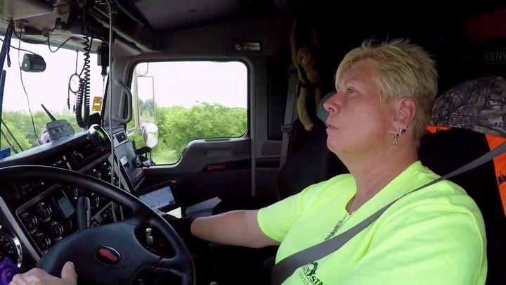 Paula Stroud is a longtime Lone Star driver.  - Photo courtesy Lone Star Transportation.