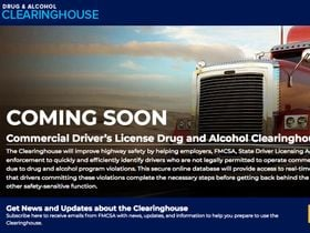 Some Sober Advice on the Drug & Alcohol Clearinghouse