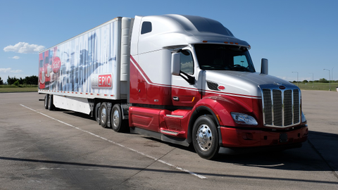 Peterbilt's Model 579 was destined to become the company flagship from 