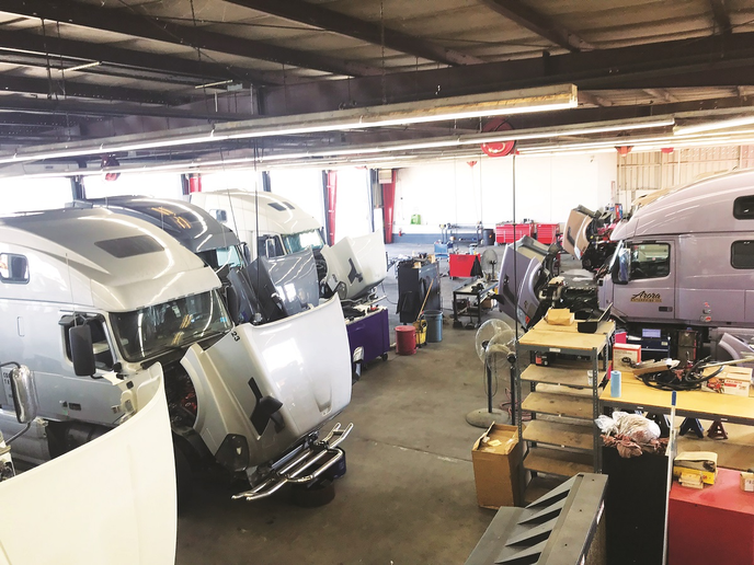When speaking with the 2019 Truck Dealer of the Year nominees, aftermarket contributing editor Denise Rondini learned a lot about what they are doing to help fleets keep trucks on the road.  - Photo via Affinity Truck Center