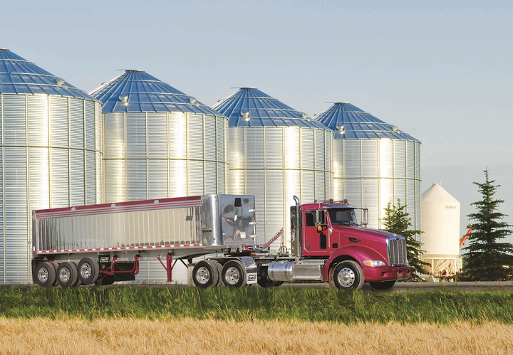 Heavy-duty dump trailers increasingly are featuring lighter-weight materials and even sensors and automation.  - Photo: East Manufacturing