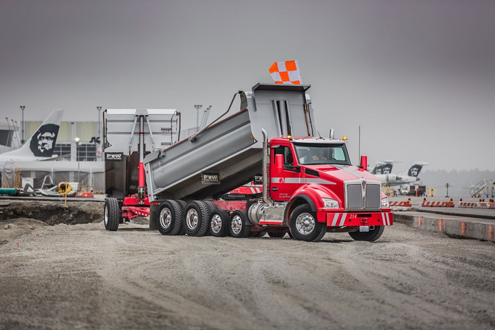 Recent advances in materials technology have resulted in steel trailers and bodies that are as light as — or even lighter than — aluminum ones, says Ralph LoPriore, with Gary Merlino Construction in Seattle.  - Photo: Gary Merlino Construction