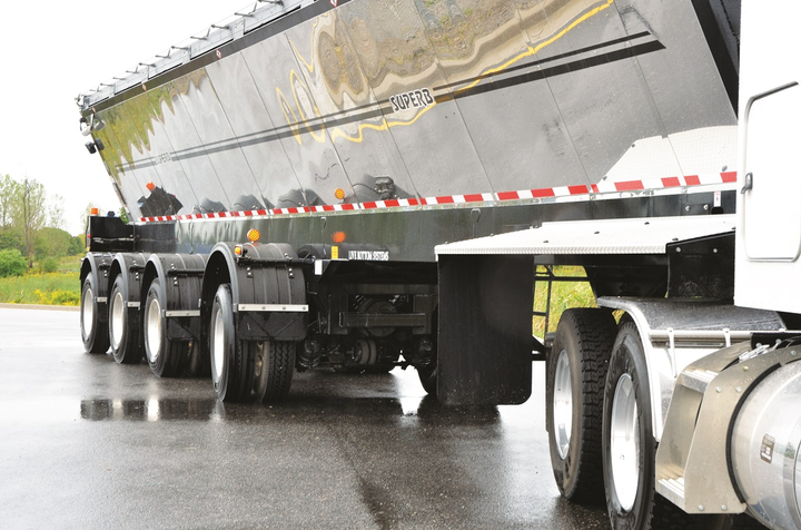 Steerable axles minimize pavement scrubbing, which states like, and help reduce scrubbing wear on tires, which fleets like.  -