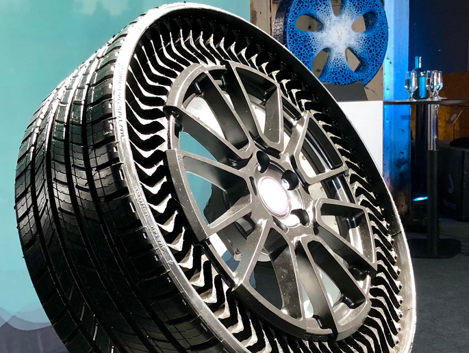 Michelin's Executive Vice President Laurent Bourrut describe's how the company's UPTIS airless tire concept is the culmination of the company's vision for a sustainable future. 