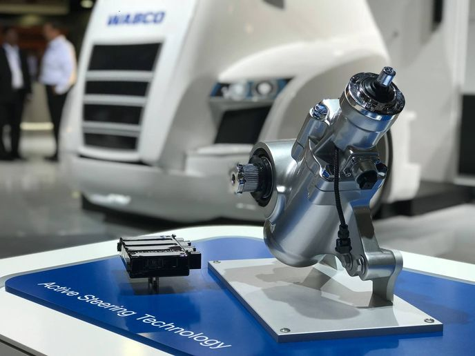 Advances in steering are soon going to make driving easier, and will be an important part of the move toward more automation in trucks.