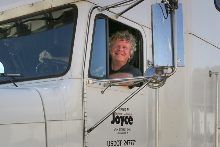 "Finn Murphy was ""seduced"" by trucking at a young age and has written a book recalling his 30-plus years on the road. Photo: Finn Murphy