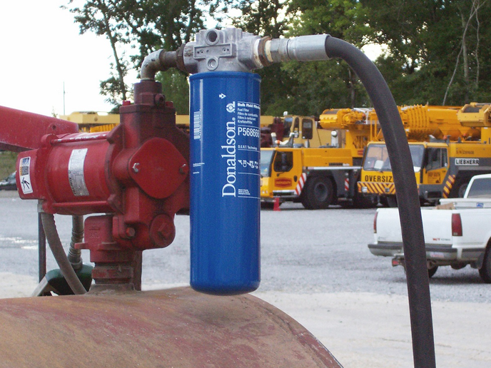 The pump is the most critical place to filter fuel.  -