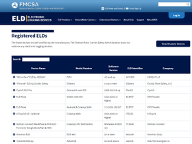 How Accurate Is FMCSA's List of Registered ELDs?