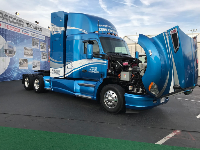Kenworth and Toyota are partnering on a fuel-cell-powered Class 8 tractor for regional hauls of up to 350 miles.