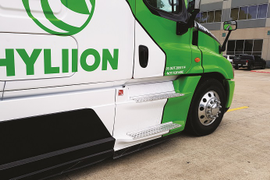 Driving Hyliion's 6X4HE Hybrid Electric System