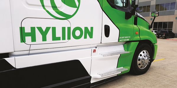 Hyliion's hybrid-electric system makes the truck feel like you have only half a load in the box.