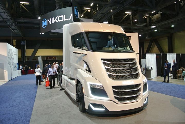 Nikola's order book is already full for its Nikola One hydrogen fuel cell tractors, slated to enter production sometime in 2022.