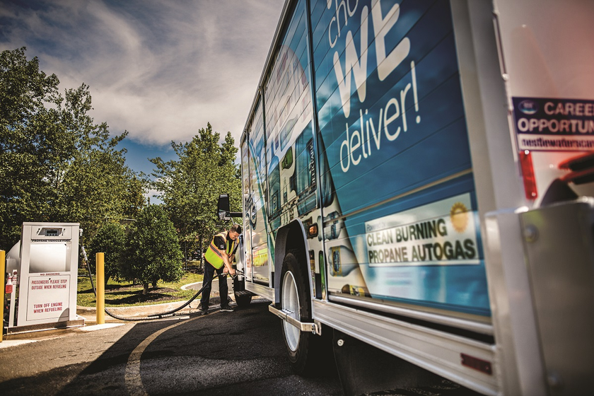 Propane autogas refueling infrastructure is designed to scale and can easily adapt to the...