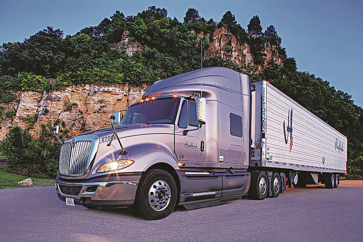 Hirschbach has developed close relationships with truck makers and component suppliers, helping it to spec smartly for mpg performance and to preview advanced fuel-efficient technology.