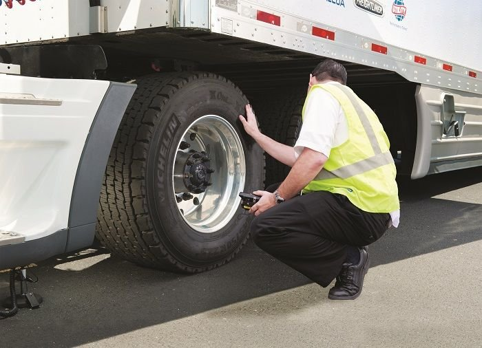 Bringing in an outside expert can help you quickly get a handle on daily tire issues such as pressure checks, irregular wear and punctures. Photo: Michelin