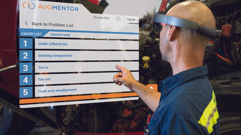 Augmented reality could become a training and even a diagnostic tool in the shop.