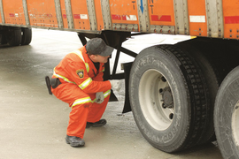Over 1,600 Trucks Placed Out of Service in Surprise Brake Inspection Event