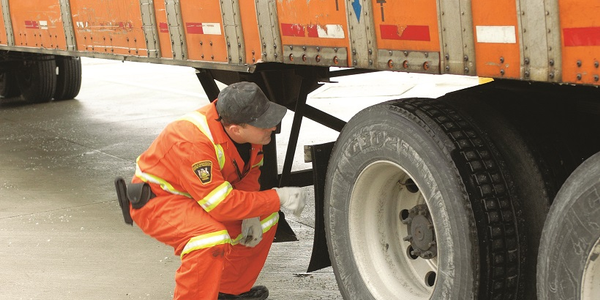 More than 1,600 commercial vehicles were placed out of service during an unannounced brake...