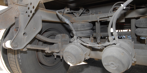 CVSA will put a special emphasis on suspension and steering system defects during this year's...