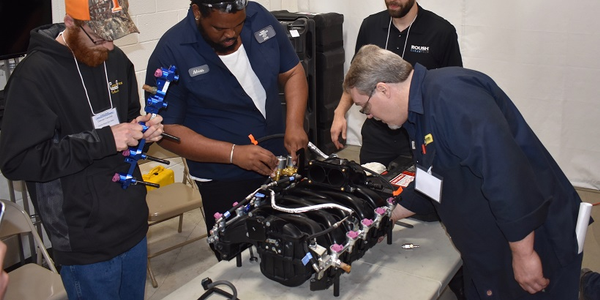Roush CleanTech trained more than 1,000 technicians on propane autogas vehicles in 2017.