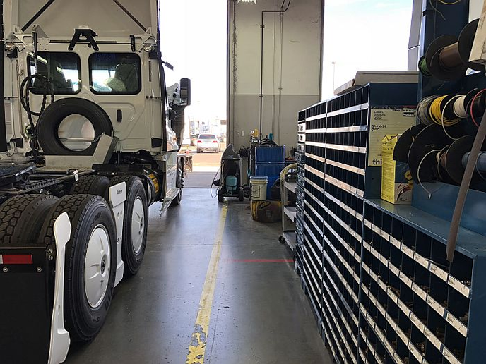 Truck manufacturers are moving to a business model that centers on maximized product uptime, or repairing equipment before it ever breaks down.