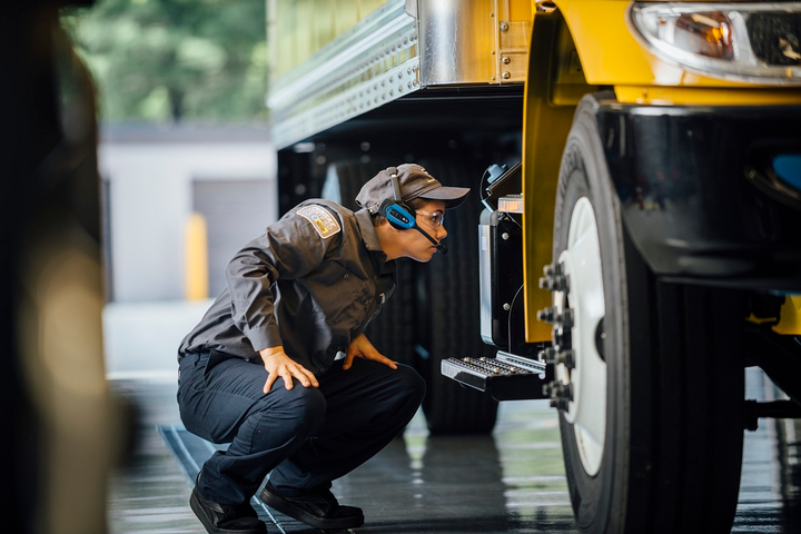 Penske's voice-directed preventive maintenance inspections can be tailored to the specific vehicle's age and specifications.