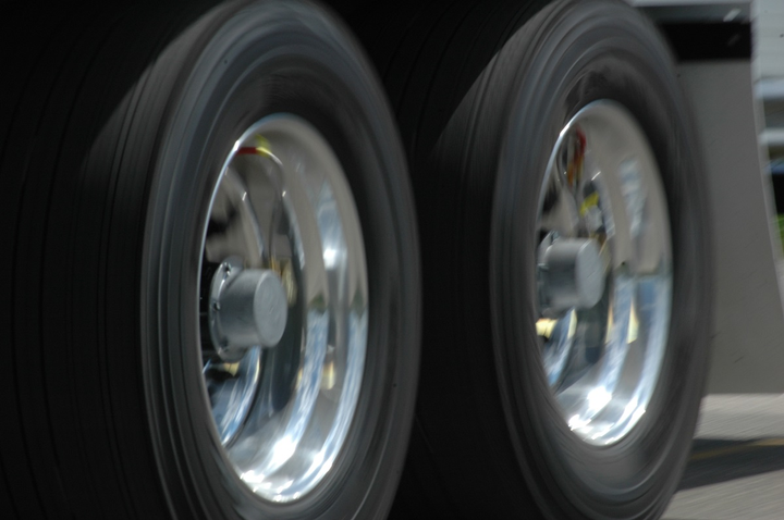 Properly adjusted wheel bearings minimize irregular tire wear, reduce the potential for wheel separation, and may help improve fuel economy.  - Photo: Jim Park