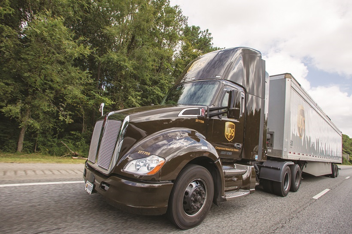 Package giant UPS remains committed to natural gas. Last year, it invested over $90 million in the alternative fuel, including building an additional six CNG stations and adding nearly 400 new CNG tractors and terminal trucks and 50 LNG vehicles to its alternative fuel and advanced technology fleet.  - Photo: UPS