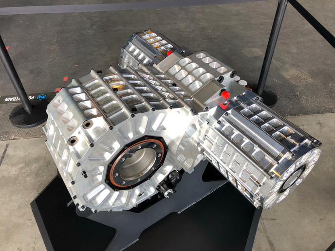 Nikola Two's drive motor can deliver 1,000 horsepower and 2,000 lb-ft of torque.  - Photo: Jim Park