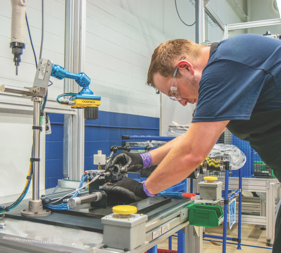 During the remanufacturing process, all parts of an assembly need to be tested to determine if they are suitable for reuse. - Photo courtesy Wabco