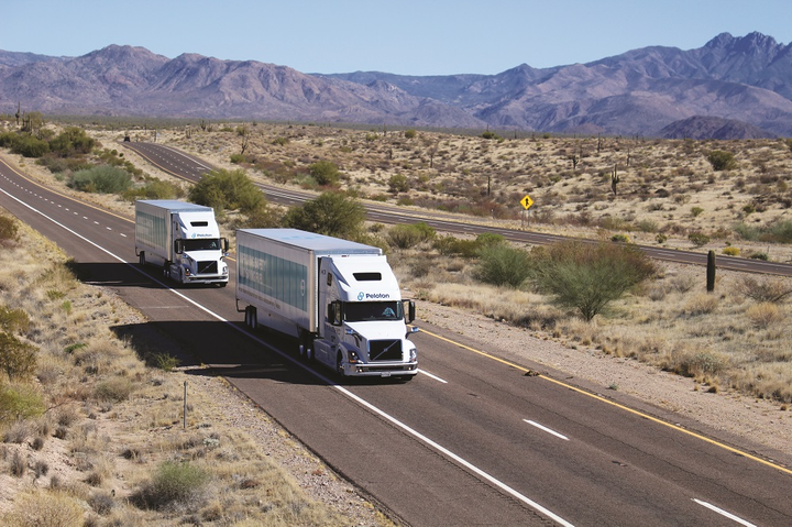 News reports indicate that a transition from test tracks to real-world operation on public roads is coming soon for truck platooning technology. 