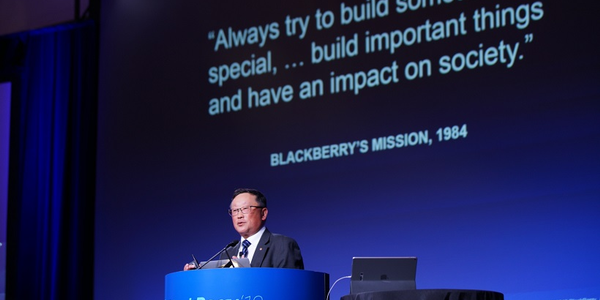 BlackBerry CEO John Chen spoke about how technology will play an increasingly important role in...