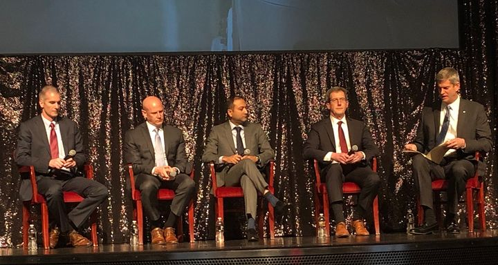 A panel of trucking industry executives offered their insights into new technologies in the trucking industry will impact the aftermarket.