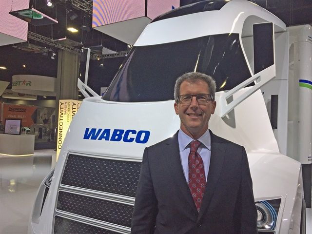 Jon Morrison, president of the Americas at Wabco.