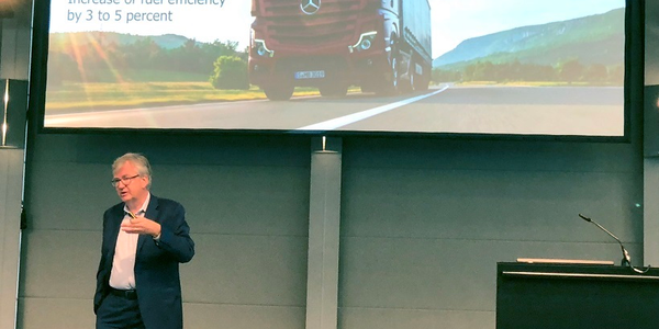The head of Daimler's Truck and Bus business division, Martin Daum, said that not all new...
