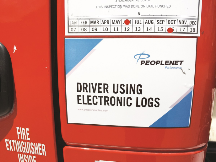 Before the ELD mandate, fleets with electronic logs reported they often were given little scrutiny by enforcement officers. Now that the playing field is leveled, that's no longer the case.  - Photo: Deborah Lockridge