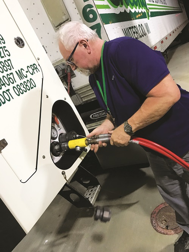 Sheehy has found that over the past decade an expansive CNG fueling network has sprung up, making it easier for its drivers to find fuel throughout the fleet's operating area. -