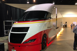 Cutting Edge and Conventional: Shell's Starship Concept Truck Arrives