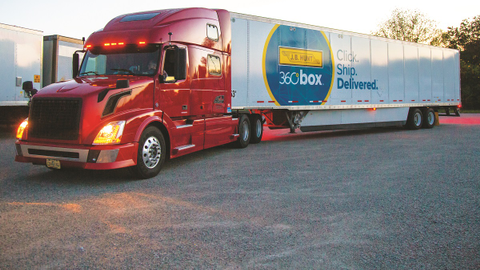 J.B. Hunt Transport Services' digital freight-matching platform, Carrier 360, also features a...