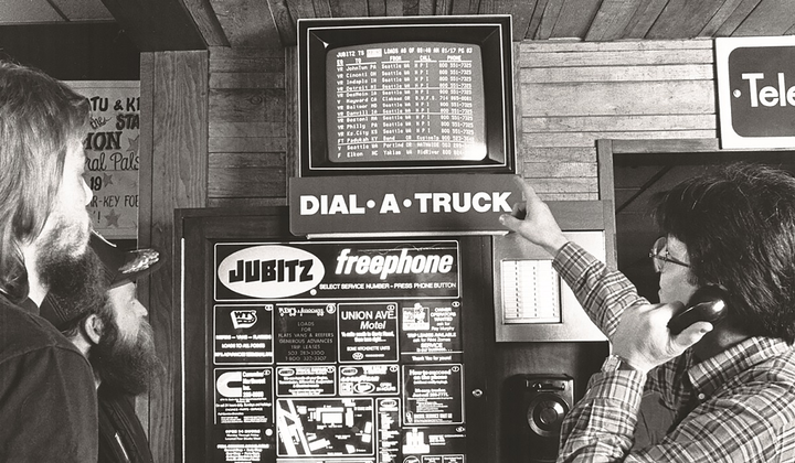 Load-matching technology has come a long way since DAT Solutions got its start with Dial-A-Truck load boards in truckstops.  - Photo: DAT Solutions
