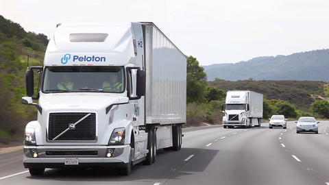 Daimler has pulled out of platooning development but companies like Peloton still believe the...