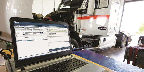 A trucking company's TMS may include integrations with maintenance and other applications.